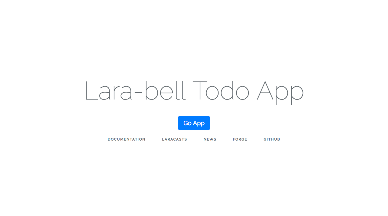 Laravel初心者がTodoアプリ作ってみた。CRUD編